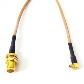 Пигтейл (кабельная сборка) MMCX- SMA(female)