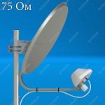 AX-2000 OFFSET 75 - облучатель 3G офсетного спутникового рефлектора, F, Antex