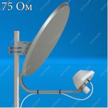 AX-1800 OFFSET 75 (F) офсетный облучатель 4G (LTE1800)