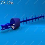 AX-2014YF - антенна стандарта 3G , усиление 14dBi, F - разъем, 75 ом, Antex