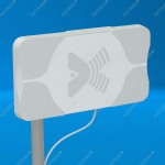 AX-2418P MIMO 2x2 BOX - панельная антенна с боксом для WIFI-модема