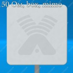 AX-2420P MIMO 2x2 BOX - панельная антенна с боксом для WIFI-модема