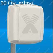 AX-407P MIMO 2x2 компактная антенна 4G (7 dBi) ( LTE450)