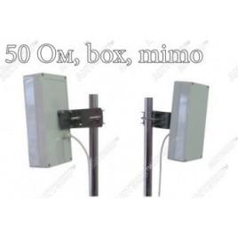 Антенна панельная WiF AX-5514PS60 BOX MIMO (5 ГГц) + гермобокс