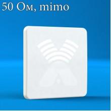 AGATA MIMO 2x2 -  панельная антенна широкополосного диапазона 4G/3G/2G (15-17 dBi), 50Ом, Antex