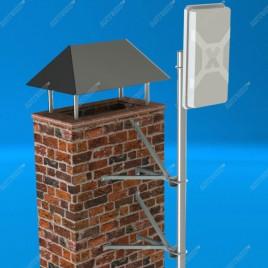 Стеновой кронштейн для крепления мачт KSUM-220