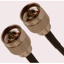 Кабельная сборка N-male - N male 2 метра, кабель rg-58 a/u