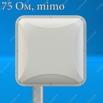 PETRA BB MIMO 2x2 Антенна  (3G   4G MIMO),F-разьем,  75Ом, Antex