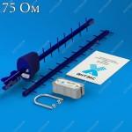 Комплект №4 ЭКОНОМ для 3G USB-модема (17 дБ), разьем F, 75 Ом