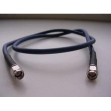 Кабельная сборка sma-male и rp-sma-male, 2 метра, кабель rg58au