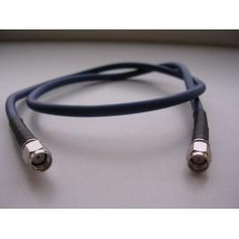 Кабельная сборка sma-male и rp-sma-male, 2 метра, кабель rg58