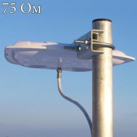 CIFRA-6 - ДМВ Антенна (DVB-T, DVB-T2) Усиление до 6 dBi, 75Ом, Antex