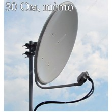 HARD - облучатель 2.4ГГц MIMO 2x2 с круговой поляризацией для офсетных антенн, 50 Ом,  Antex