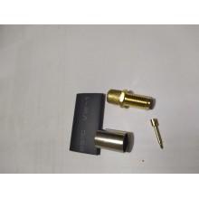 RP - SMA - female ВЧ разъем SMA, обжимной, под коаксиальный кабель 5D-FB, пин под пайку.