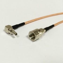 Пигтейл CRC9-FME(male) - 15 см - кабельная сборка