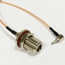 Пигтейл  CRC9-N (female) - 15 см - кабельная сборка
