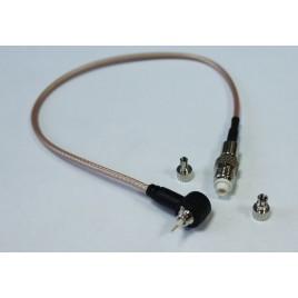 Пигтейл fme-female - crc9/ts9 15-20 см кабельный переходник