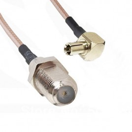 Пигтейл TS9-F (female) - 20 см - кабельная сборка