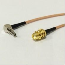 Пигтейл  CRC9-SMA (female) - 15 см - кабельная сборка