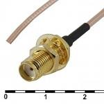 Пигтейл  SMA (female)-cab null - 15 см - кабельная сборка