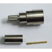 Разъем FME-male, обжимной,для коаксиального кабеля  RG-58, пин под пайку.