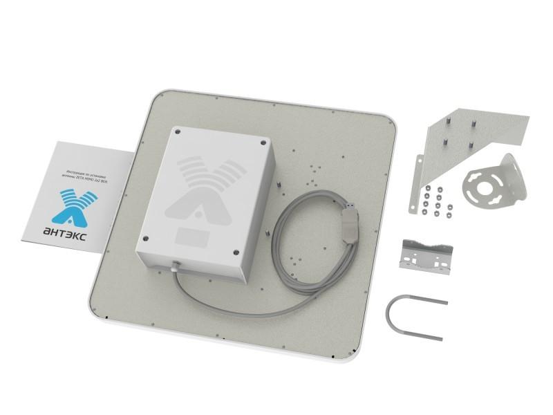ZETA MIMO BOX- широкополосная панельная антенна 4G/3G//2G/WIFI (17-20dBi)